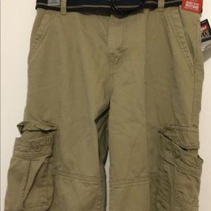 Kids Wrangler Khaki Shorts
